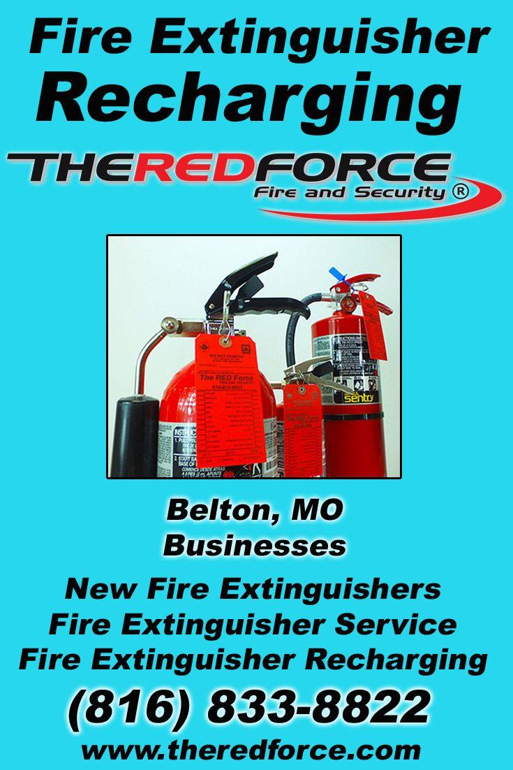 Fire extinguisher recharging belton mo 816 8338822