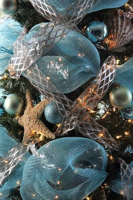 2492 best Christmas images on Pinterest DIY, All about christmas - beach themed christmas decorations