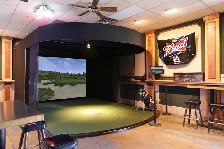 Commercial Golf Simulator | Golf simulator | Golf ...