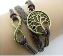 Handmade multilayer woven leather charm bracelet bratara din piele http://www.bijuteriifrumoase.ro/cumpara/handmade-multilayer-woven-leather-charm-bracelet-978