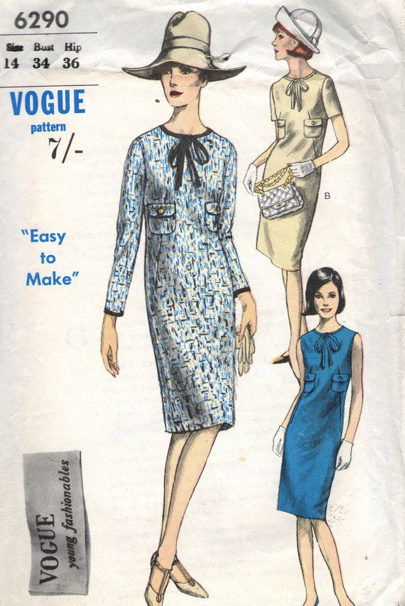 211 best vintage sewing patterns images on Pinterest | Vintage ...