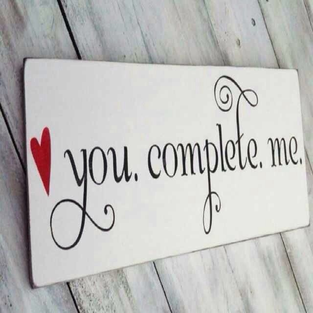 You Complete Me Pictures, Photos, and Images for Facebook
