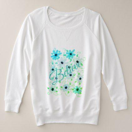 Ladies Plus Size Long Sleeve Plus Size Sweatshirt  $44.30  by SueChisholm  - cyo diy customize personalize unique