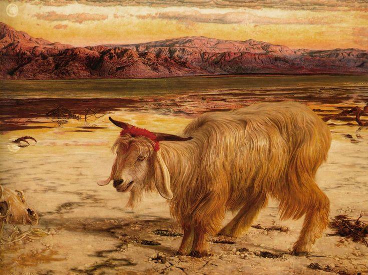 William Holman Hunt The Scapegoat