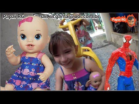 Baby Alive Hora do Xixi boneca Homem Aranha Spider Man Marvel papai  fil... #homemaranha #aranha #spider #spiderman #eterparker #avengers #vingadores #toys #toys #おもちゃ #barbie #dolls #doll #kids #kids  #puppet #babyalive #lego #imaginext #marvel #DC #Comics #escola #school #educação #education #kid #kids #lol