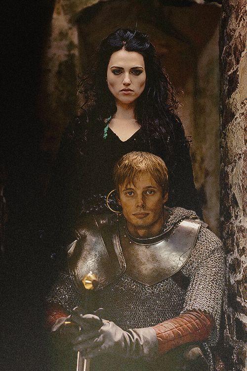 Morgana and Arthur #Merlin #MerlinMonday -> http://www.tumblr.com/tagged/merlin+monday