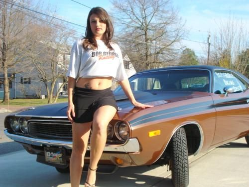 Mopar Andrea And Her Dodge Challenger Mopar Andrea And