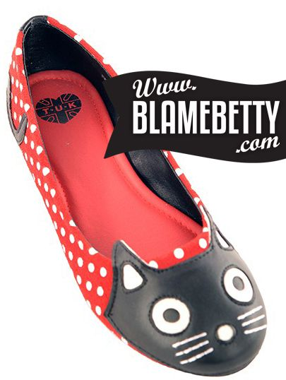These little kitty flats kill me!! #blamebetty #rockabilly #retrostyle
