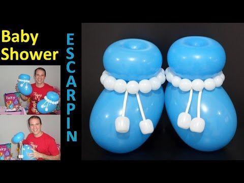 162 best globoflexia y decoracion con globos images on - Decoracion para baby shower nino ...