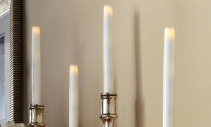 Groupon - Order Home Collection Tapered Flameless LED Candle Sets  in [missing {{location}} value]. Groupon deal price: $8.99