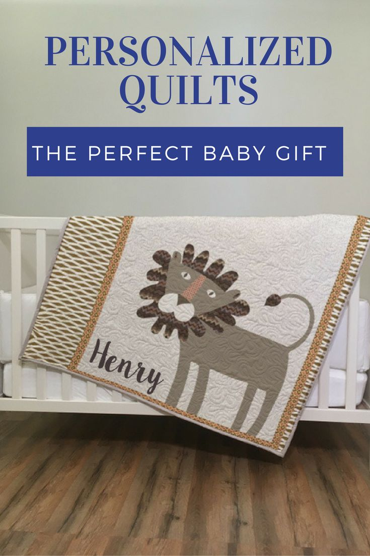 122 best baby quilts images on pinterest childrens quilts a custom and personalized quilt is the perfect baby gift we use digital design and negle Image collections