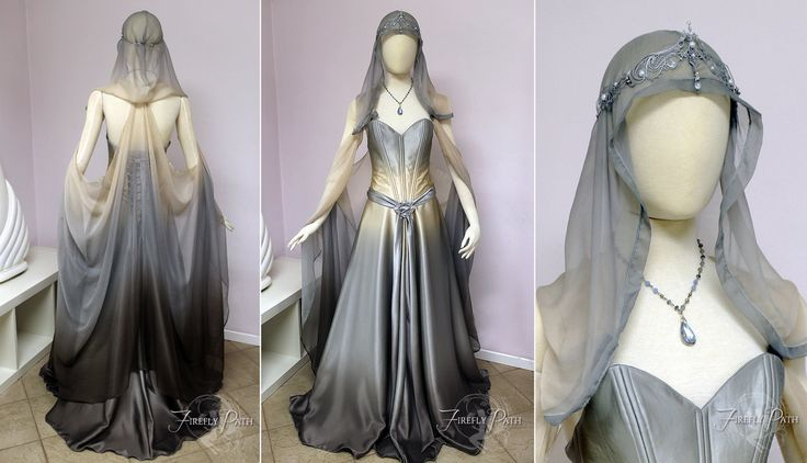 ~Starlight Gown~ After we started this gown, many of you commented on how you preferred it in its beginning stages. After adding more detail, I realized your were all right! The ombre fabric does a...