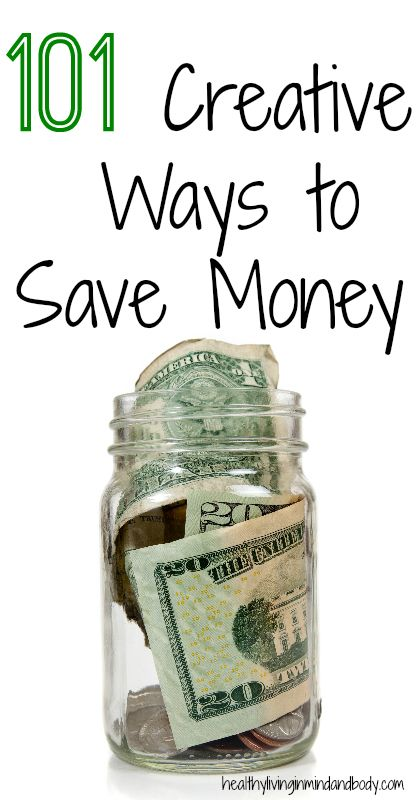 101 Creative Ways To Save Money 101 Ways Pinterest