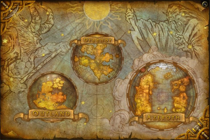 World of Warcraft Map | Tumblr