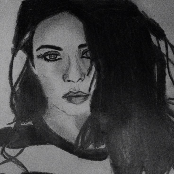 My drawing of charli xcx