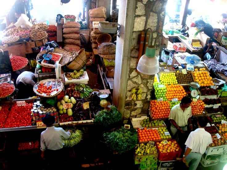 #Mauritius #Mauricios #Island #market #fruits
