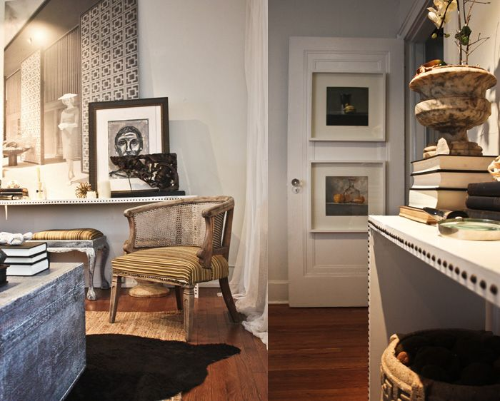 Art hanging on the door! Brilliant! Living Room detail by William R. McLure & 376 best ART! images on Pinterest pezcame.com