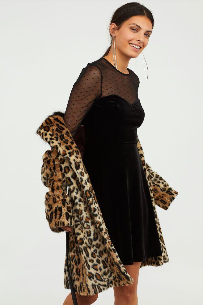 amp;m Black H Dresses Fancy Fitted Dress Pinterest q8dvUw
