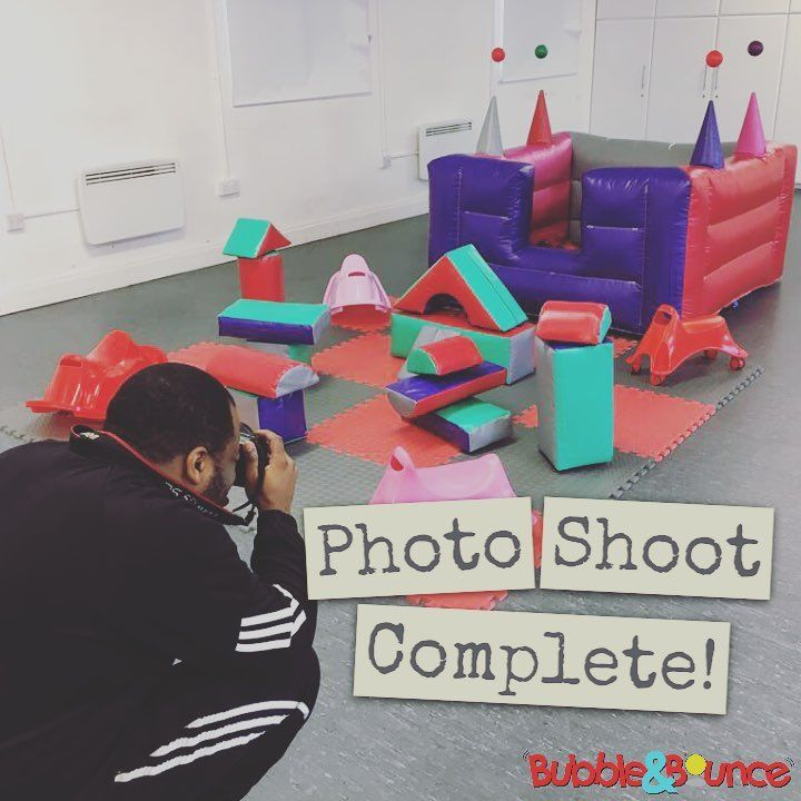 """(@bubbleandbounce) on Instagram: """"What a day! Photo shoot of 5 new soft play products and 5 upgrades, all done in 3hrs and 30…"""""""