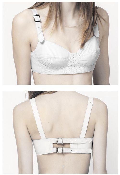 ASOS Revive leather bra