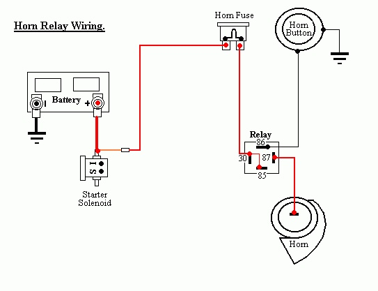 diagrams 733487 hella relay wiring diagram relay wiring lights Series and Parallel Circuits Diagrams horncar wiring diagram