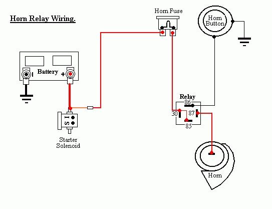 12v Horn Relay Wiring Diagram 12v Automotive Wiring Diagrams – Hella Relay Wiring Diagram