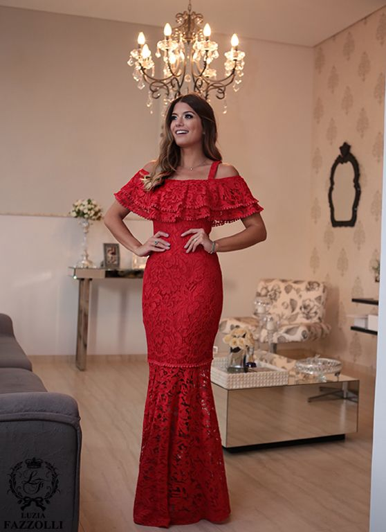 Por mais de 20 anos, a marca Luzia Fazzolli, apresenta coleções sofisticadas e exclusivas criadas para mulheres refinadas e estilo clássico… | vestidos de 2019 | Vestido de festa, Vestidos para senhoras e Vestidos