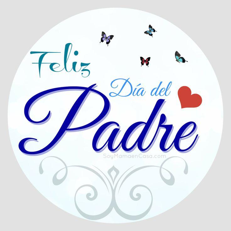 Feliz Día del Padre ! #fathersday #diadelpadre  www.soymamaencasa.com