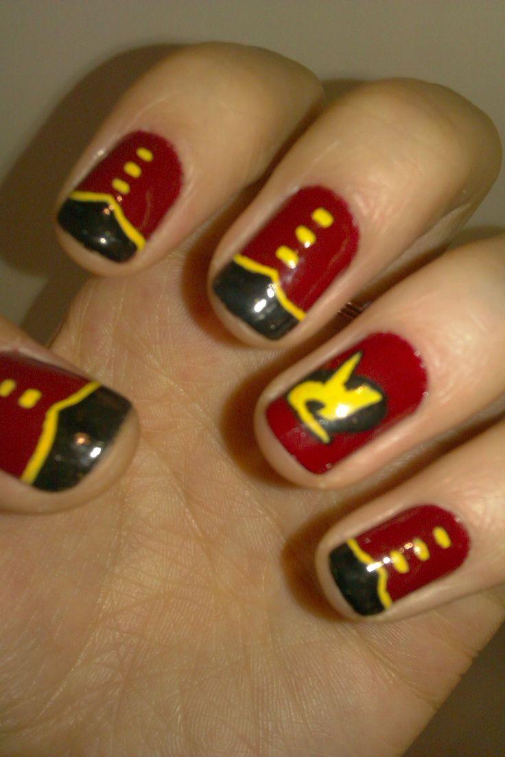 Best 25 batman nail designs ideas on pinterest batman nails nail art tim drake robin batman so want to do this prinsesfo Image collections