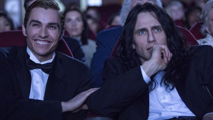 New Line Cinema               James Franco scores on both sides of the camera in this wildly funny and surprisingly touching ode to bad moviemaking. The actor-director is hysterical as the brooding, deluded Tommy Wiseau (who wrote, directed, financed and starred in...