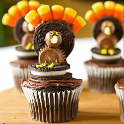 Thanksgiving Turkey Cupcakes. To learn more about the ELCA or to find an ELCA congregation go to ELCA.org