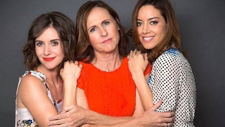 Alison Brie, Molly Shannon, and Aubrey Plaza.