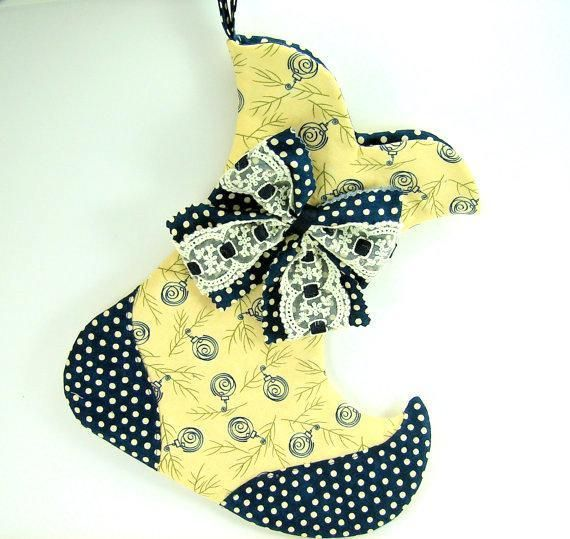Whimsical Christmas Stocking Pattern ~ Love This!!