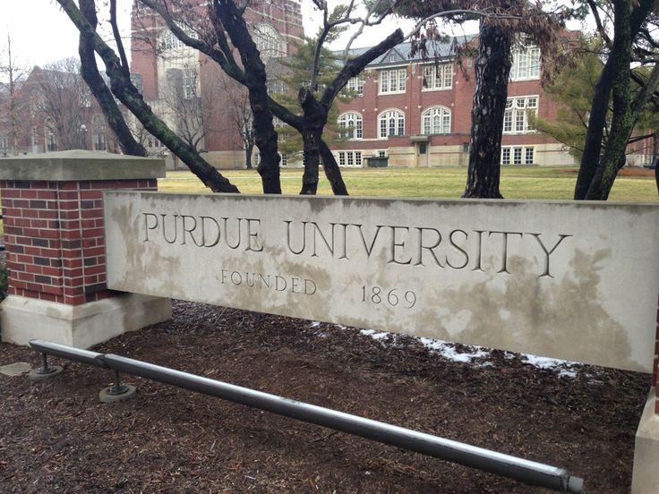 Purdue University in West Lafayette, IN