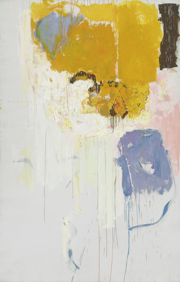 Allo, Amélie by Joan Mitchell (1925-1992) oil on canvas 1973 http://christiesauctions.tumblr.com/post/22066127468/joan-mitchell-allo-amelie-post-war-and
