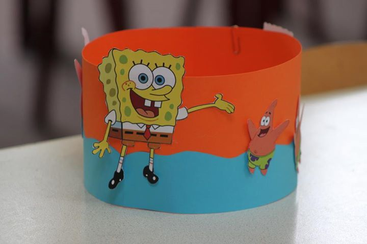 Verjaardagsmuts Spongebob