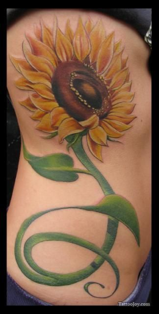 gorgeous art..not going on me..but I love the flow of it: Beautiful Tattoos, Tattoo Ideas, Sunflower Tattoos, Sunflowers, Tattoos Piercings, Tattoos 3, Tattoo Design