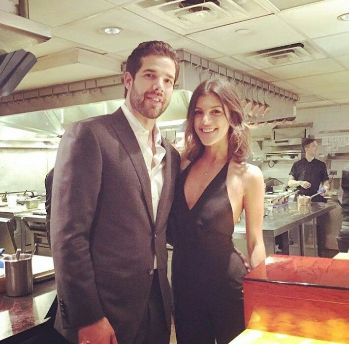 Corey Crawford and his girlfriend