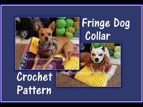 22 Best Crochet Dog Accessories Images On Pinterest Dog
