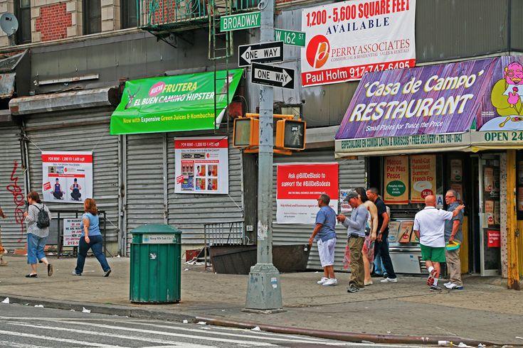 Jeremiah's Vanishing New York: Washington Heights Gentrification Sale
