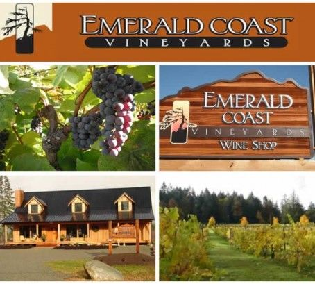 Favourite Local Winery: Emerald Coast Vineyards