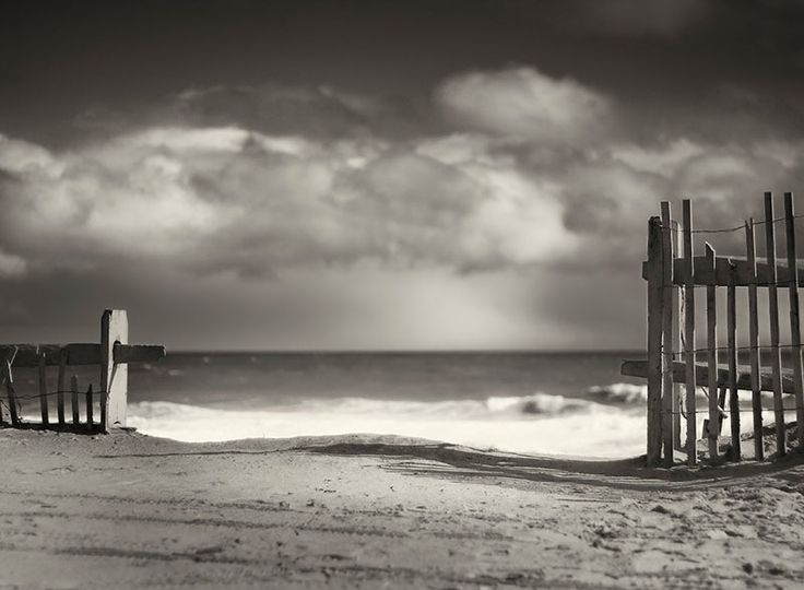 Beach fence wellfleet cape cod by dapixara fine art sepia photography print available framed black white