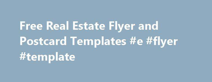 best 25 real estate flyers ideas on pinterest. Black Bedroom Furniture Sets. Home Design Ideas