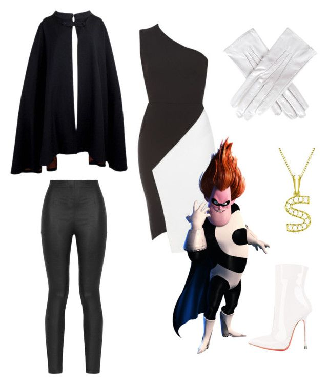 """""""Syndrome// Incredibles"""" by maggieoquinn ❤ liked on Polyvore featuring Black, Pierre Cardin, Victoria Beckham and Armani Jeans"""