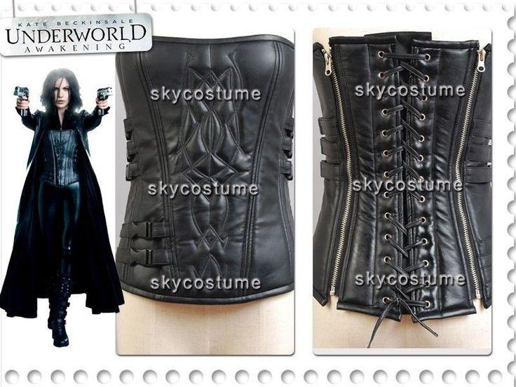 Movie Underworld 4 Awakening Selene Pleather Corset Costume Cosplay-in Clothing from Novelty & Special Use on Aliexpress.com | Alibaba Group