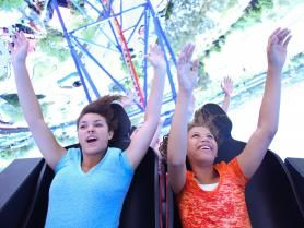 Six Flags Fiesta Texas; our season passes are accepted here; don't know if includes the water park.