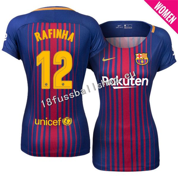 Barcelona Fussball Trikots 17/18  12 #Rafinha Heim Royal Damen Neues Fußballtrikot - €27.95 : günstige fußballtrikots 2016/17|kinder fussball trikot|fußballtrikots kaufen, günstige fußballtrikots 2016/17|kinder fussball trikot|fußballtrikots kaufen