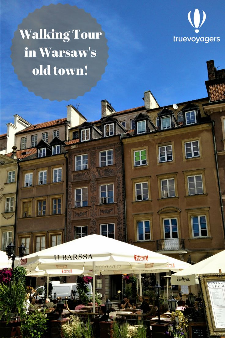 Free walking tour in Warsaw's old city center!