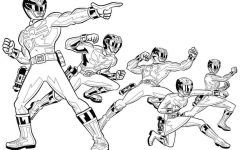 Best Free Printable Power Ranger Coloring Pages Ideas