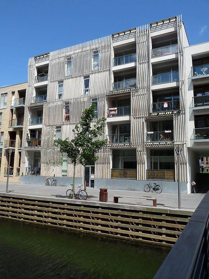 housing Sluseholmen in Copenhagen, Denmark